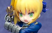 【フォトレビュー】デスクトップアストレア『Fate/Grand Order』 セイバー/アルトリア・ペンドラゴン 完成品フィギュア[メガハウス]