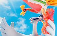 【フォトレビュー】G.E.M.EXシリーズ 『ポケットモンスター』 ホウオウ&ルギア 完成品フィギュア[メガハウス]