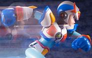 【トピックス】『ロックマンX3』より、「マックスアーマー」がゲーム発売から約25年の時を経て、初のプラモデル化!