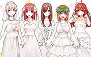 【トピックス】原作イラストを使用した記念グッズをゲットしよう!「五等分の花嫁展」販売商品情報公開!