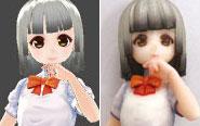 【トピックス】フルカラー3Dプリントできる「それなり~の」アバターフィギュアがスタート!