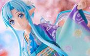 """【トピックス】悠久の歴史と『ソードアート・オンライン』の世界がリンクスタート!美しい""""京友禅""""をまとった特別なアスナのフィギュアが登場!"""
