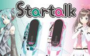 【トピックス】音声翻訳機「Startalk」が初音ミク、キズナアイとコラボレーション!