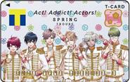【トピックス】『A3!』の3周年記念Tカードが、3月19日(木)より全国のTSUTAYAと旭屋書店にて発行開始!