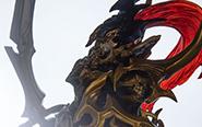 【フォトレビュー】ART WORKS MONSTERS 『遊☆戯☆王デュエルモンスターズ』 カオス・ソルジャー 完成品フィギュア[メガハウス]