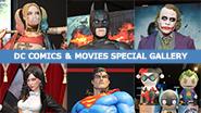 【イベントレポート】DC COMICS & MOVIES SPECIAL GALLERY