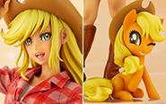 【トピックス】『MY LITTLE PONY』より「アップルジャック」が、コトブキヤのBISHOUJOシリーズに登場!