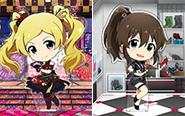 【トピックス】『アイドルマスター ミリオンライブ!』花咲夜とJus-2-Mintが、あみあみの「アクリルキャラプレートぷちU」シリーズに登場!