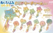 【トピックス】amieから『あんさんぶるスターズ!!』の新グッズシリーズ「クリアキーチャーム Vol.1/Vol.2」が登場!