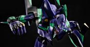 【フォトレビュー】DYNACTION 汎用ヒト型決戦兵器 人造人間エヴァンゲリオン初号機 あみあみ撮り下ろしサンプルレビュー!