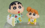 【トピックス】TVアニメ『クレヨンしんちゃん』より、パジャマ姿の「野原しんのすけ」と妹の「野原ひまわり」がねんどろいど化!