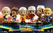 【トピックス】『バック・トゥ・ザ・フューチャー』のキャラクターたちが、キュートなデフォルメフィギュアで立体化!