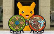 【トピックス】ポケモンマンホール「ポケふた」が、国立科学博物館前と東京国立博物館前にそれぞれ1枚ずつ設置されました!