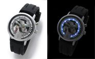 『宇宙刑事ギャバン』より、発光ギミック搭載の腕時計が登場!キャラクターファッションサイト「バンコレ!」ほかにて予約開始!
