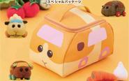 アニメ『PUI PUI モルカー』より「ポテト」が、そのままポーチになって登場!宝島社公式通販サイトほかにて予約開始!