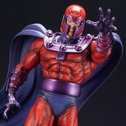 リニューアルされたファインアートスタチューシリーズより、X-MENの宿敵、磁界王マグニートーが予約開始!