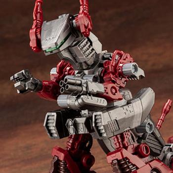 帝国軍地上部隊の中核小型量産ゾイド「イグアン」が、成型色を改めてHMMシリーズに再登場!