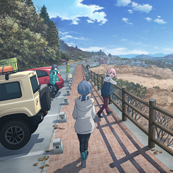 映画『ゆるキャン△』2022年初夏公開決定!富士の嶺臨む広大な地に集う5人を描くティザービジュアルが公開!