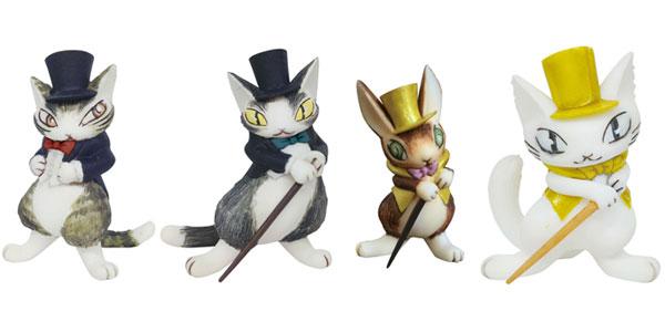 【新商品情報】『猫のダヤン』 フィギュアコレクション 3 4個入りBOX [441LABO]