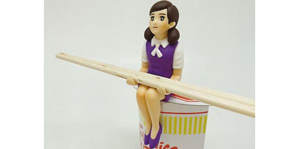 『コップのフチ子』 カップラーメンのフチ子 (5)グレープ [エンスカイ]