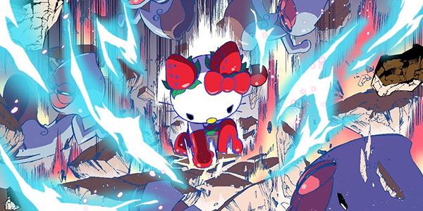 サンリオキャラクターのマンガが読めるWebサイト「イチゴミン」にて『イチゴマン』連載スタート! 脚本には井上敏樹氏を起用
